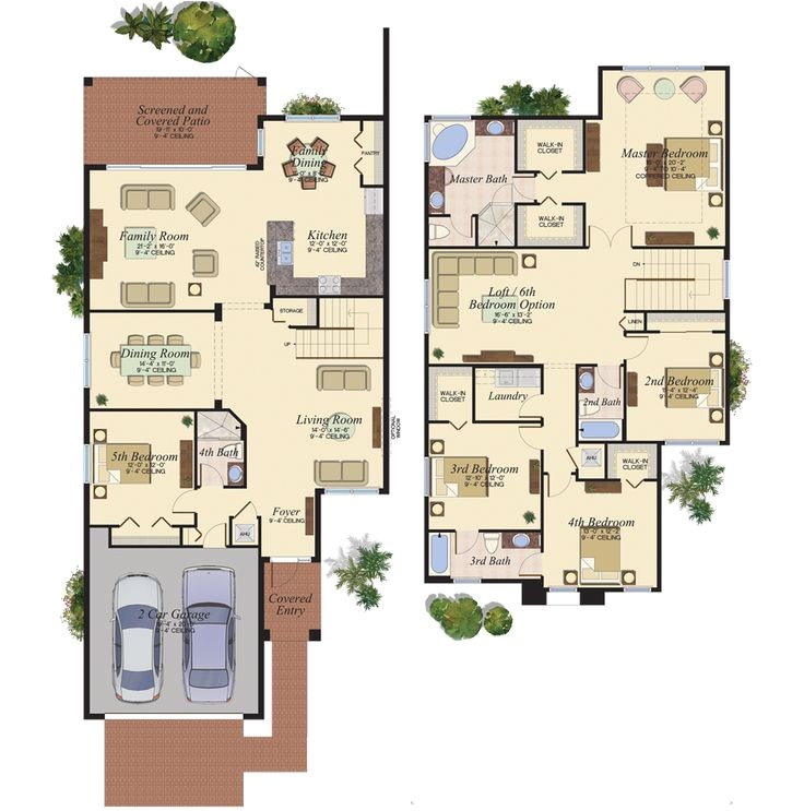 florida home builders plans