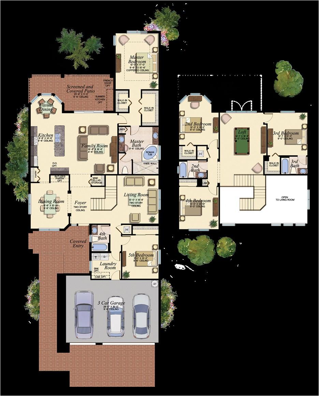 vintage florida house plans