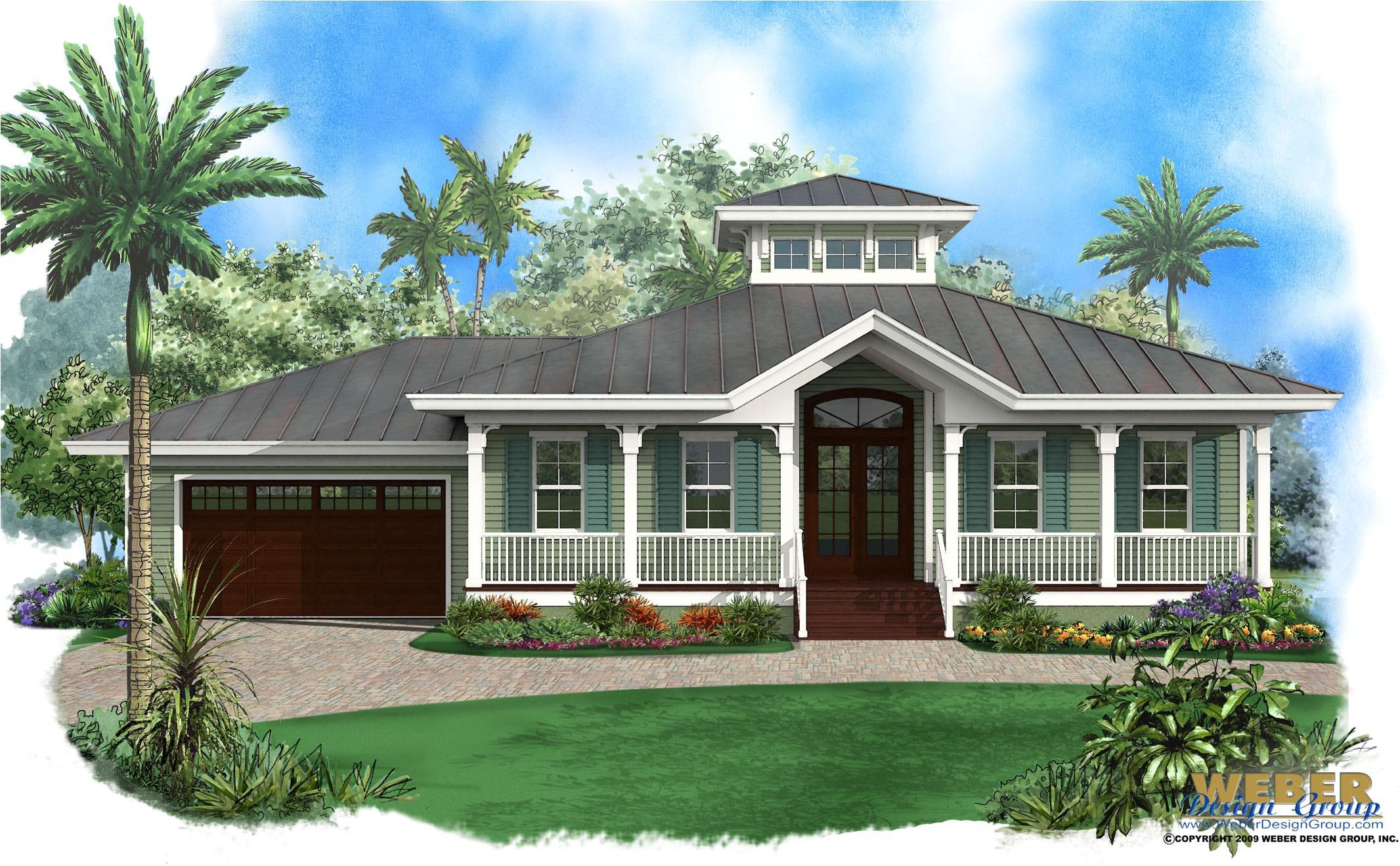 Florida Style Home Plans Key West House Plans Key West island Style Home Floor Plans