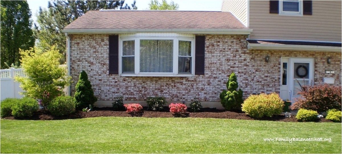 cute simple flower bed ideas front of house