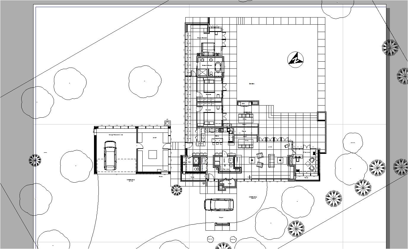 frank lloyd wright plans usonian house 3