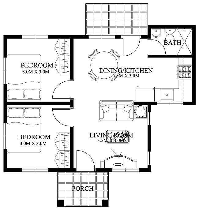 Free Architectural Plans for Homes Free Small Home Floor Plans Small House Designs Shd