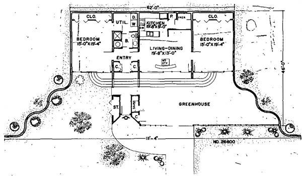 earth sheltered underground floor plans