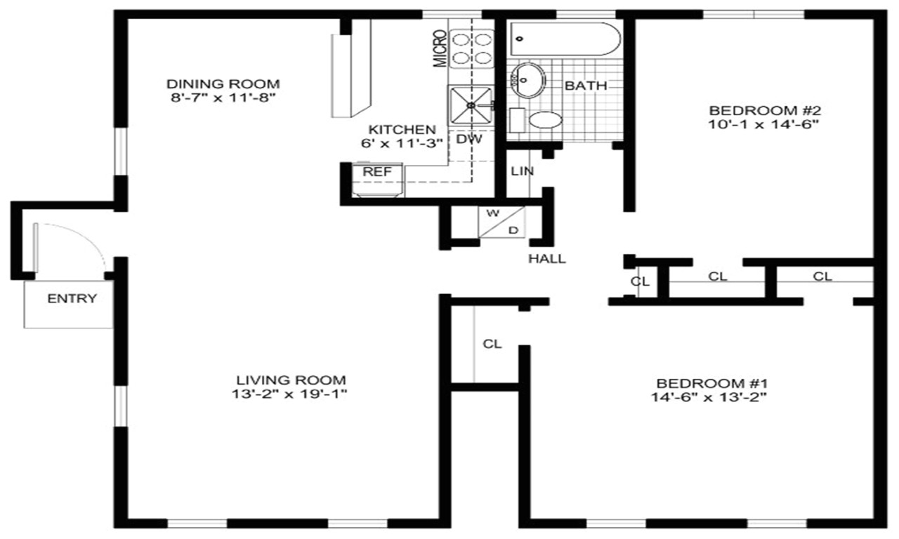 free floor plan layout