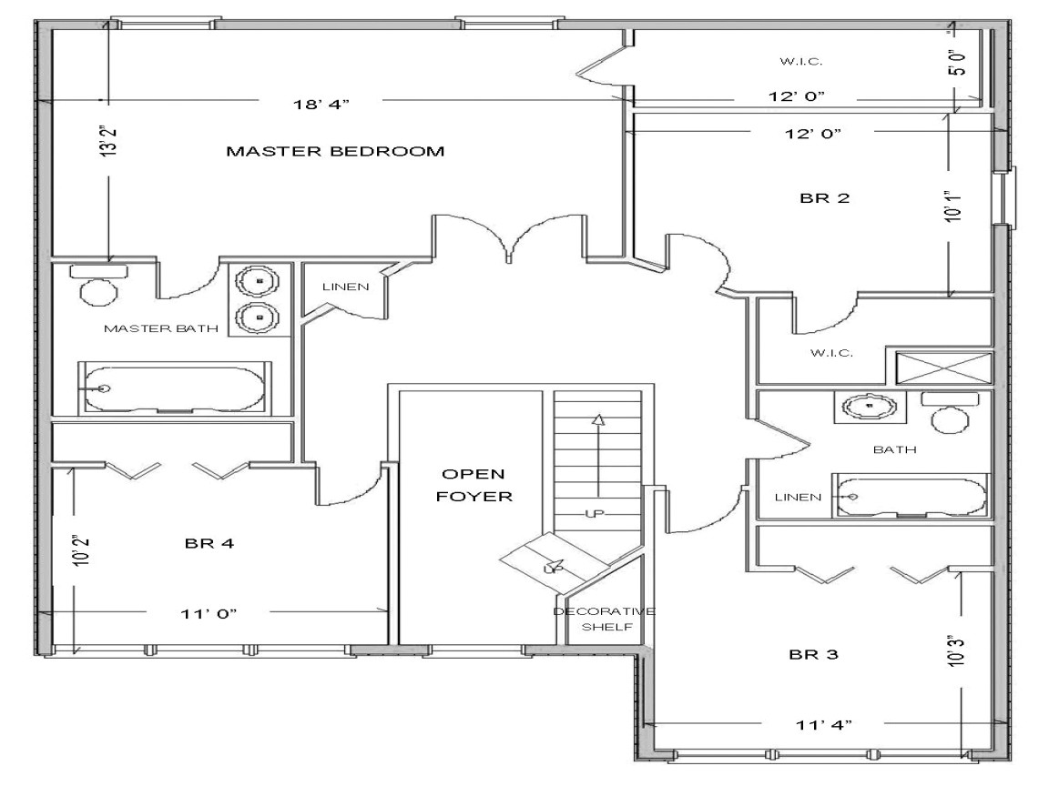 Free House Layouts Floor Plans Simple Small House Floor Plans Free House Floor Plan
