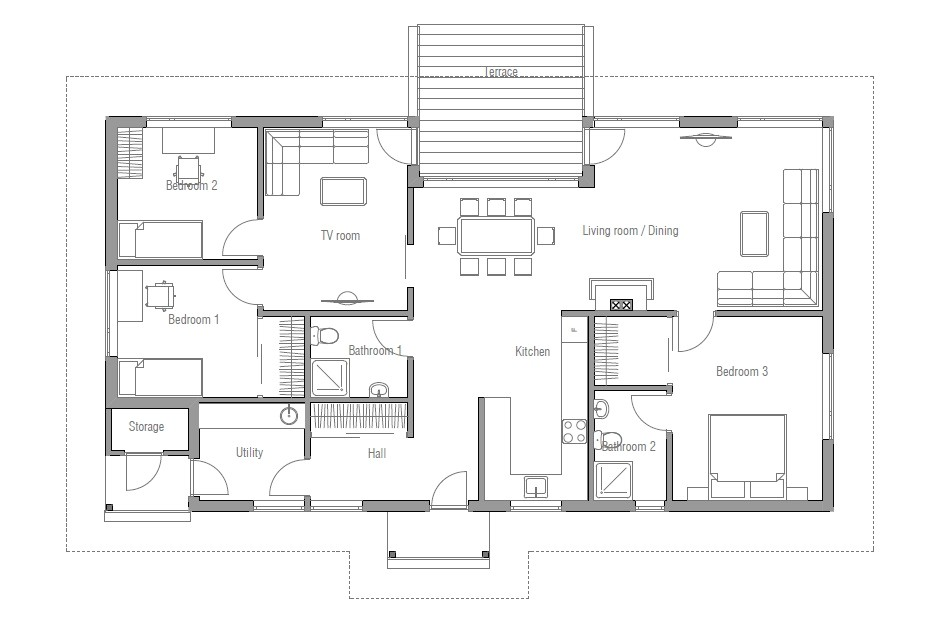 Free House Plans and Designs with Cost to Build Affordable Home Plans Affordable Home Plan Ch31