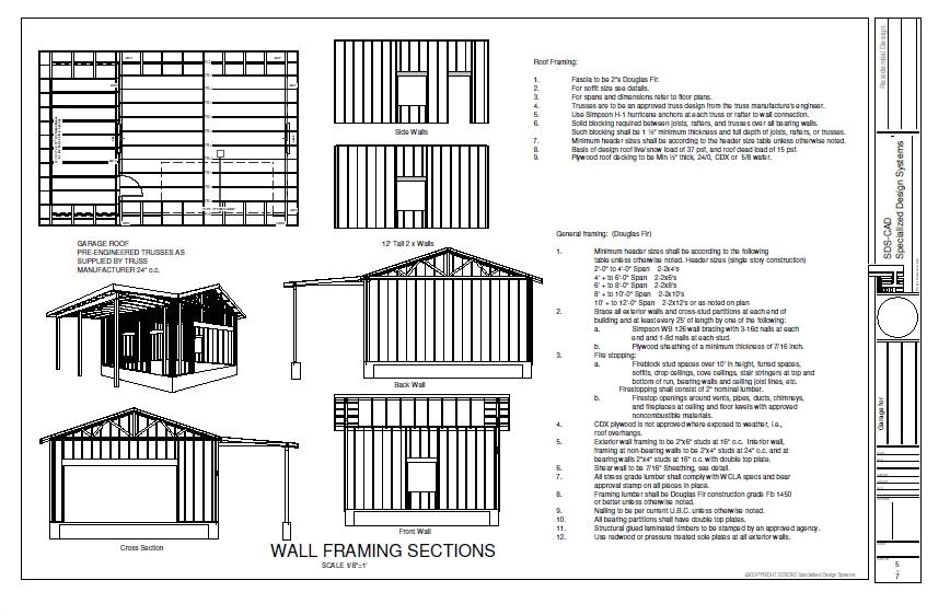 free house plans with material list
