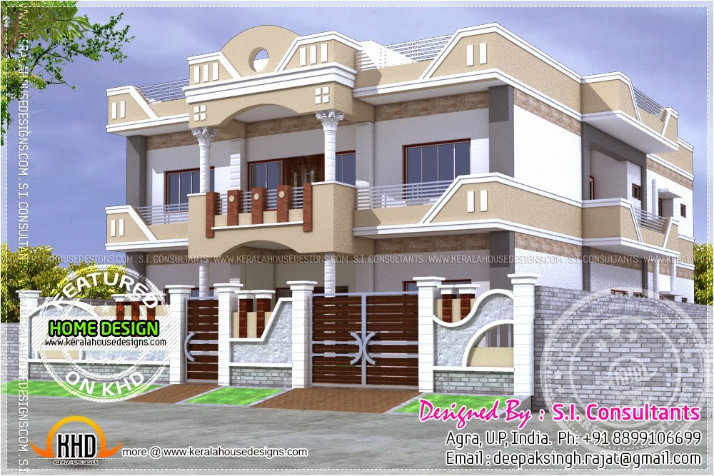 Free Indian Home Plans Home Plan India Kerala Home Design and Floor Plans