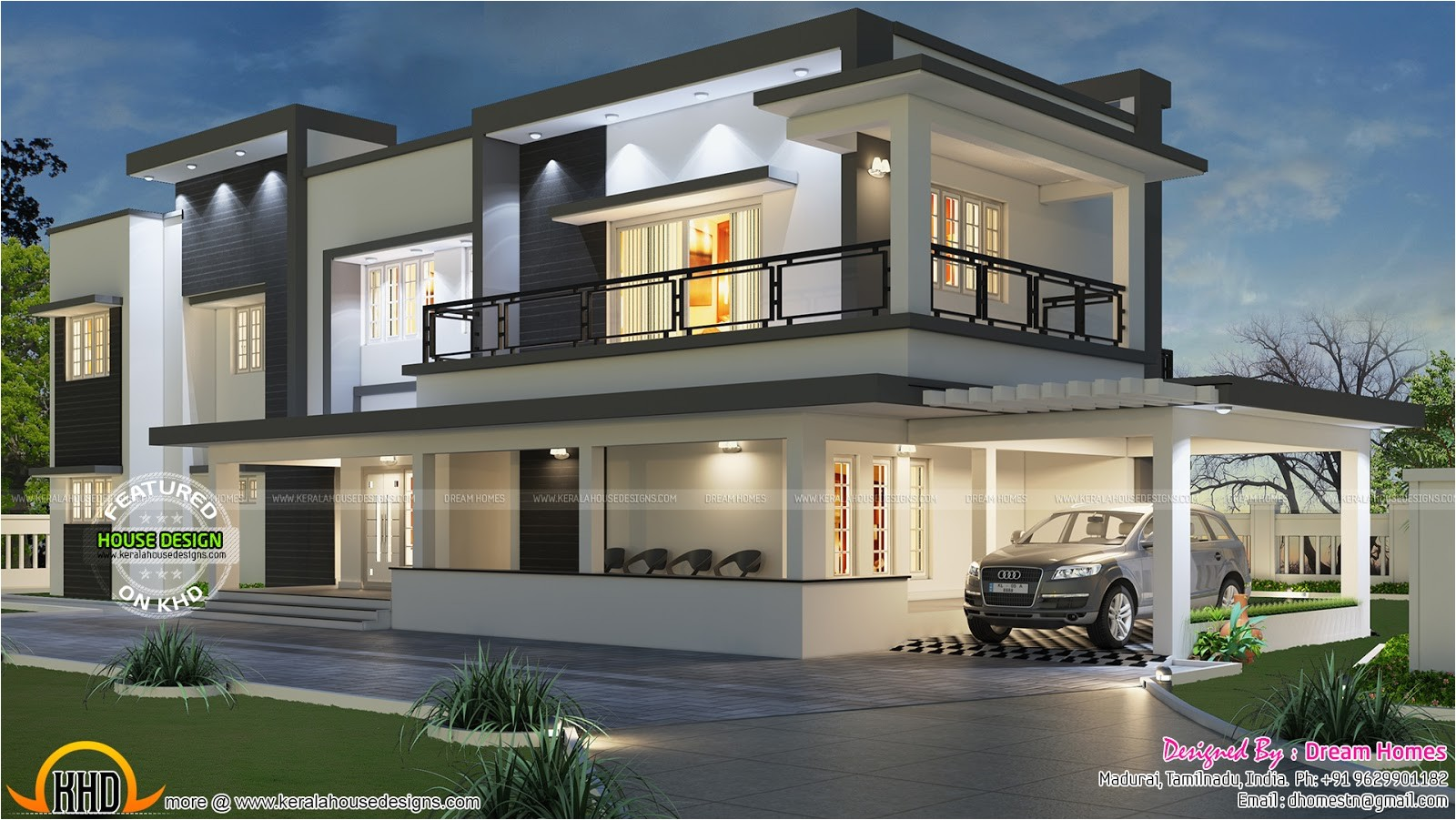 Free Modern Home Plan Free Floor Plan Of Modern House Kerala Home Design and