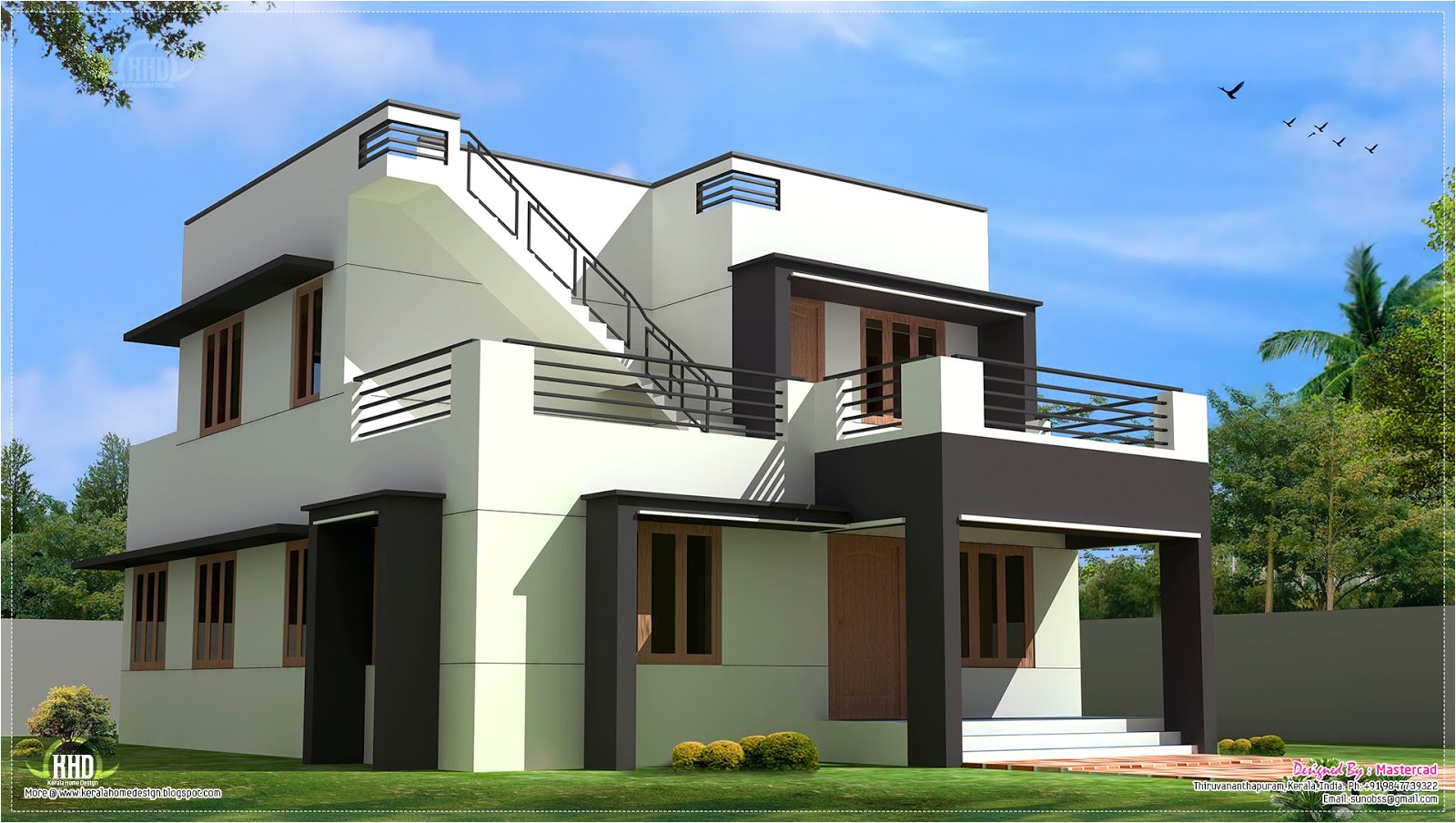 1700 sq ft modern home