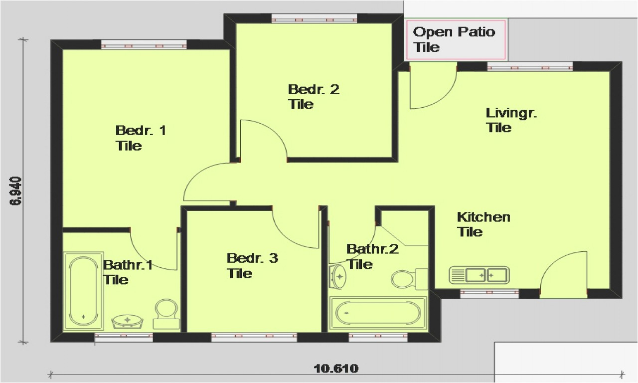 Free Online Home Plans Free Printable House Blueprints Free House Plans south