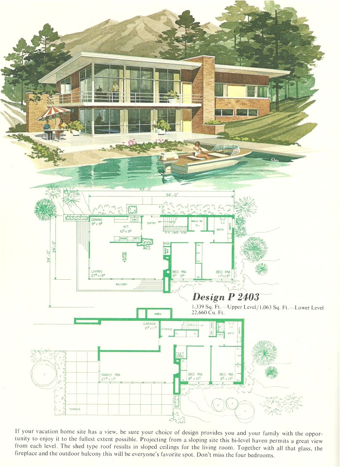 vacation home plans 2013