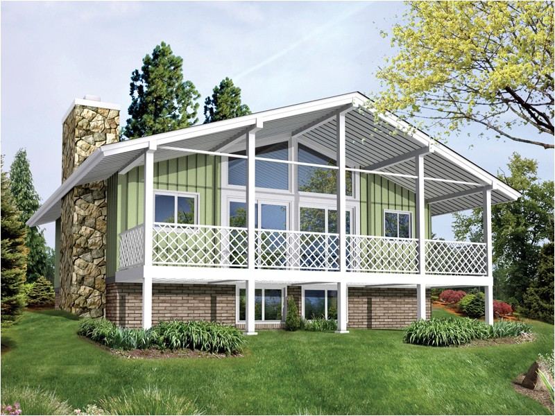 Free Vacation Home Plans Vacation Home Plans Chalet Cottage House Plans