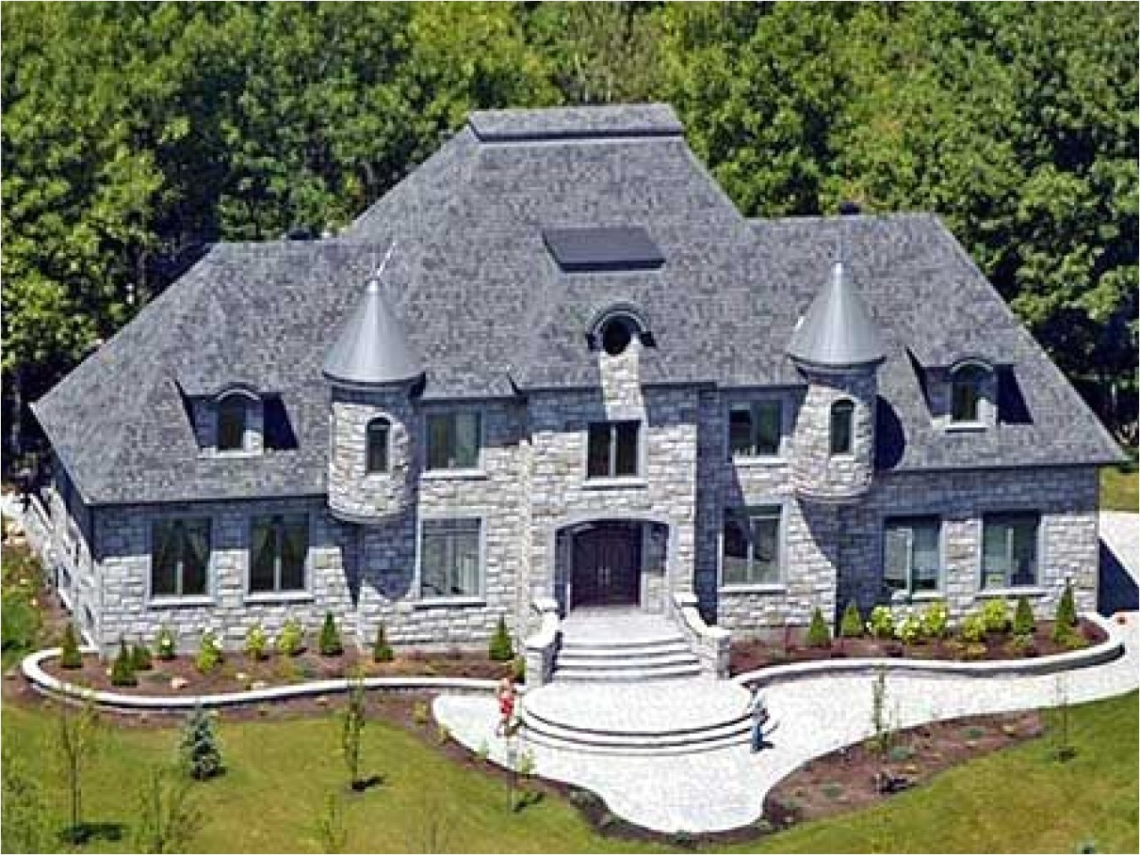 French Chateau Home Plans French Chateau House Plans Small House Plans French