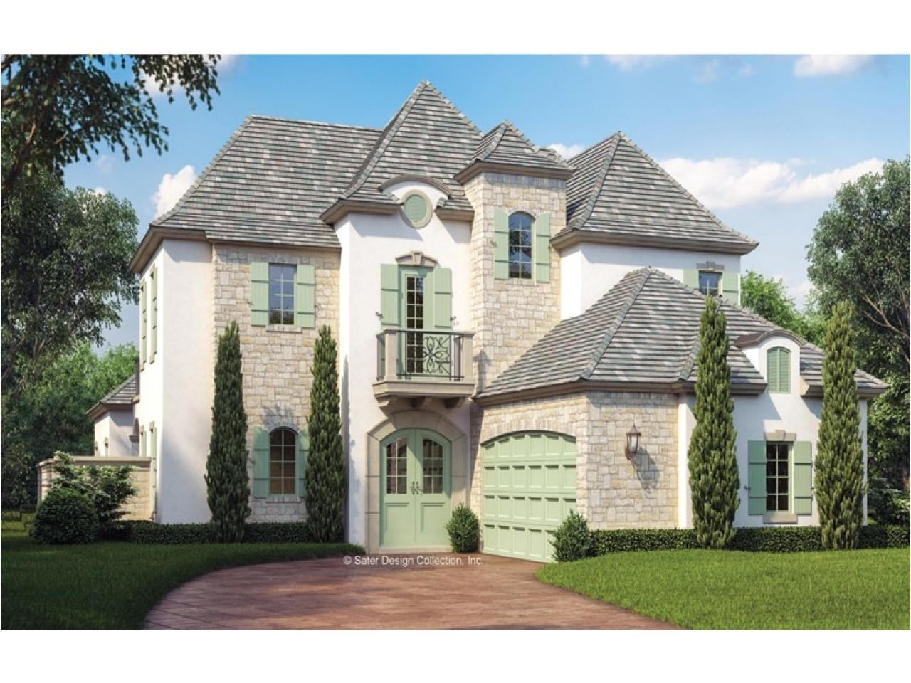 French Chateau Home Plans French Country House Plans with Courtyard French Country