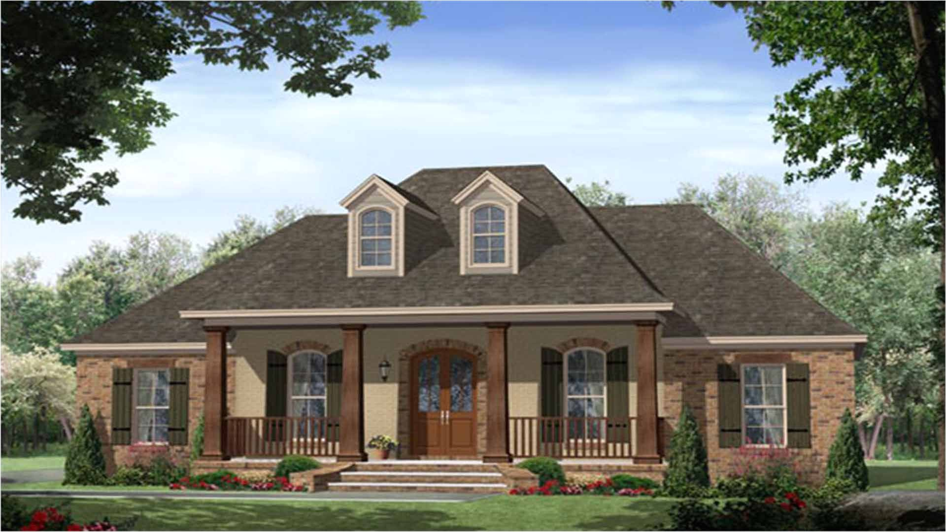 french country house plans with photos