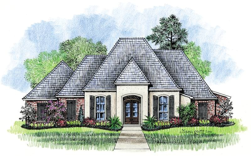 top french country house plans