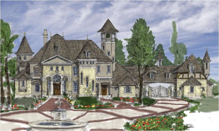 french country luxury house plans