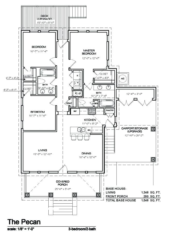 french quarter house plans