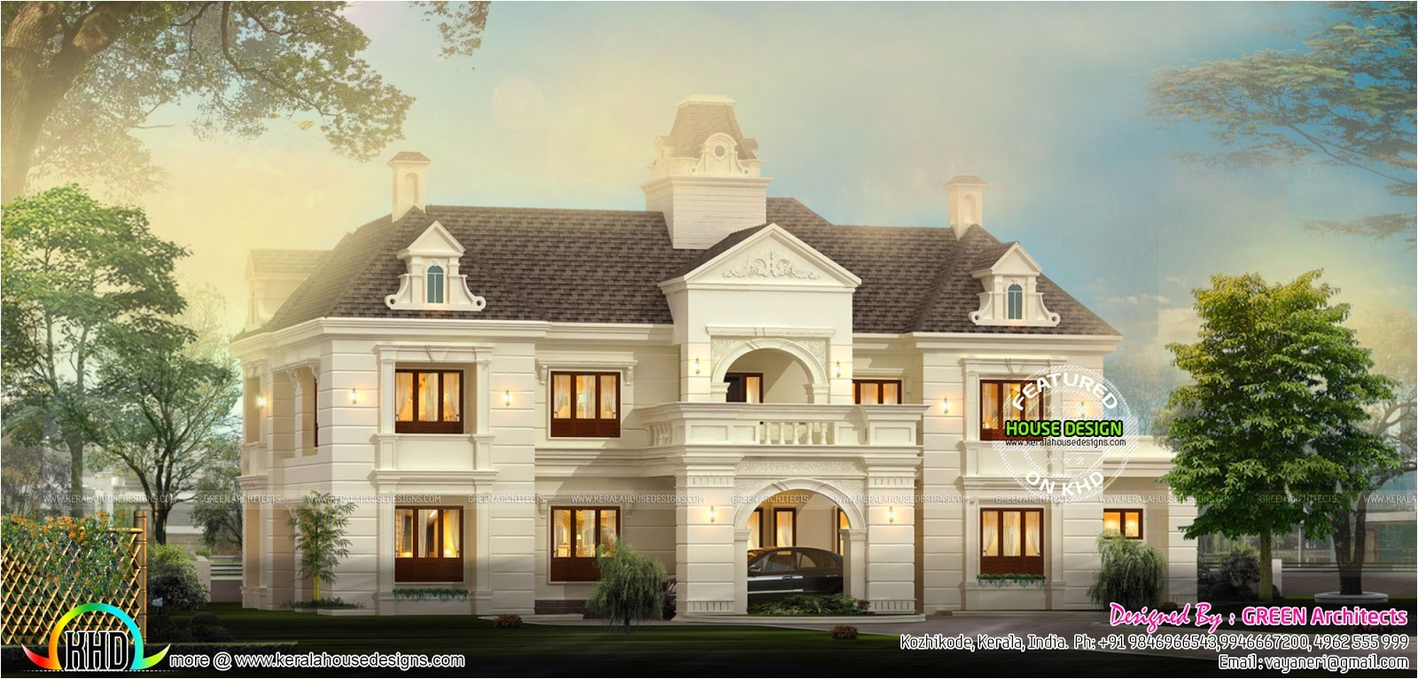 french style home architecture