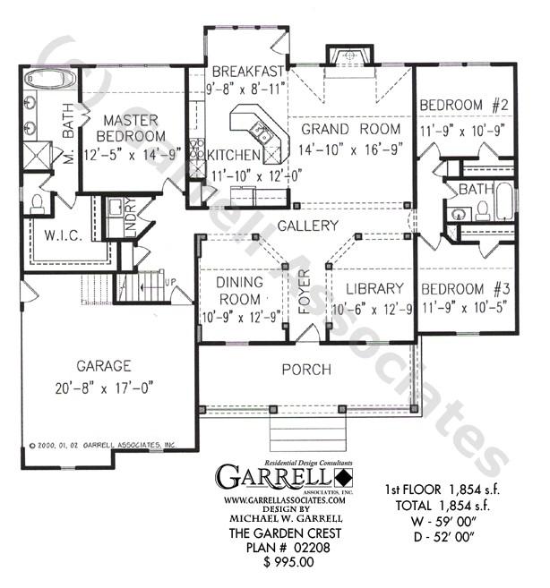 garden crest house plan