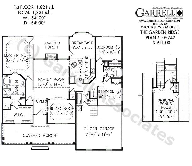 garden ridge house plan