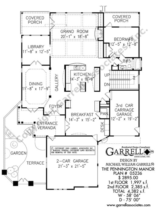 pennington manor house plan