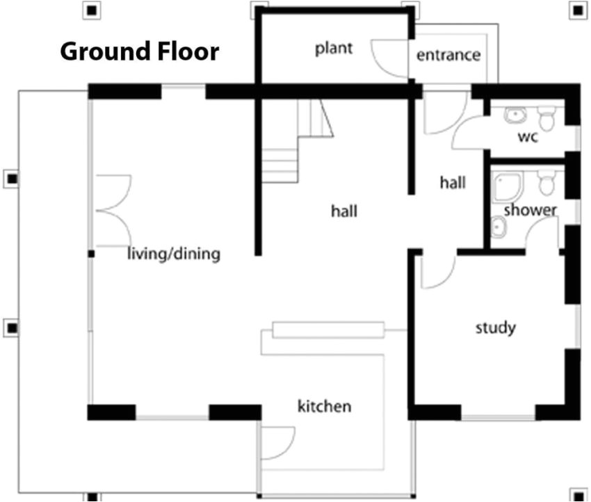 german style house plans open design