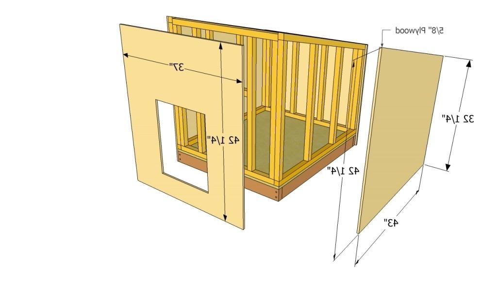 german shepherd dog house plans