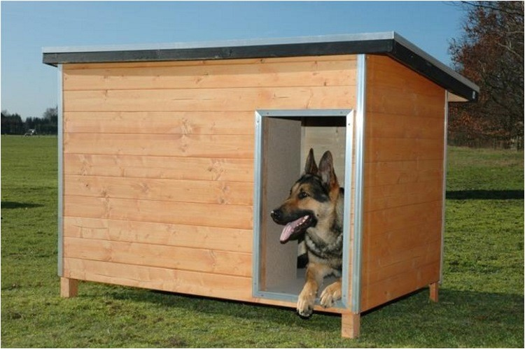 german shepherd insulated dog house plans