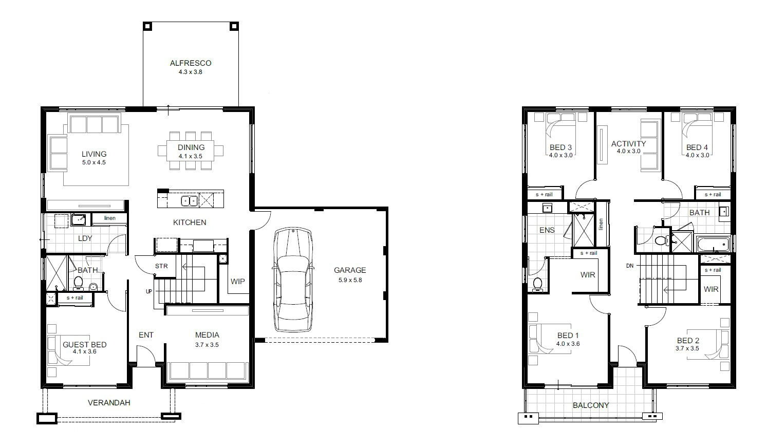 lovely pics two story house plans with loft hous plans inspir 8d9542