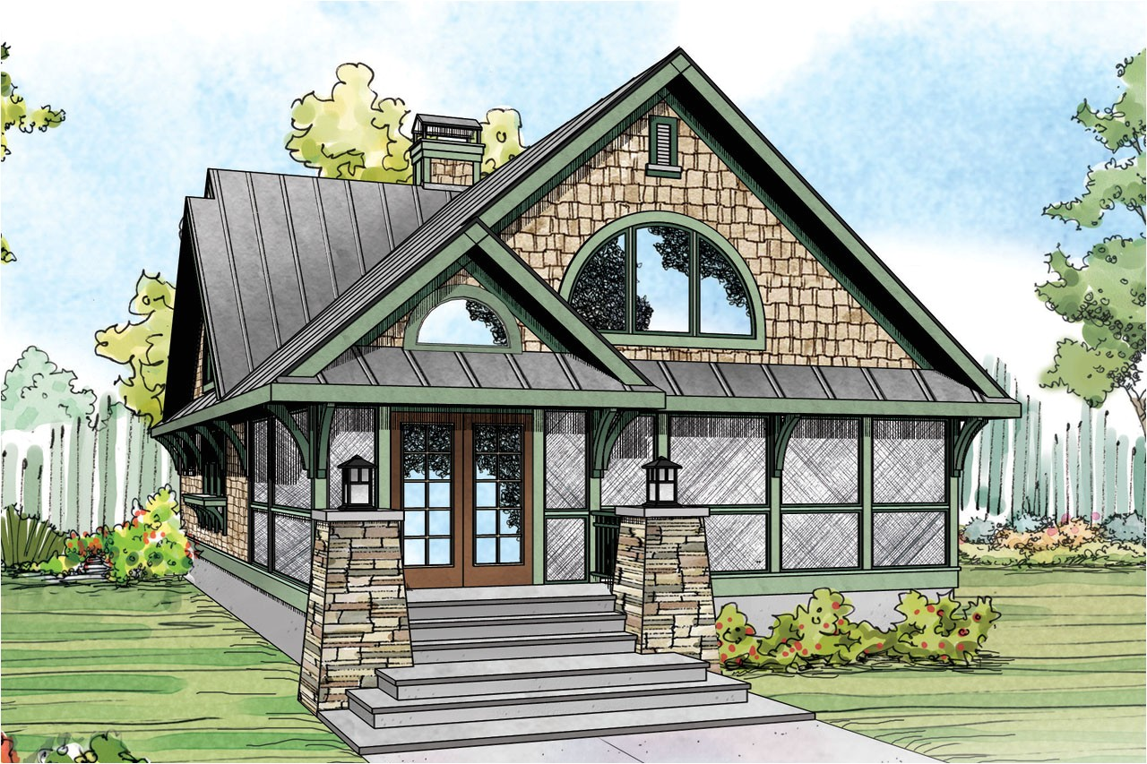 vacation house plan