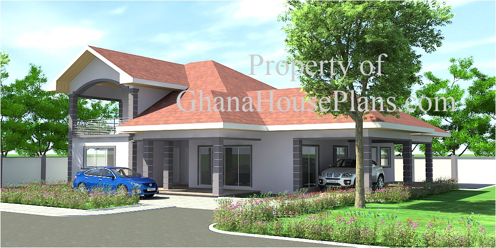 ghana homes house plans designs 2