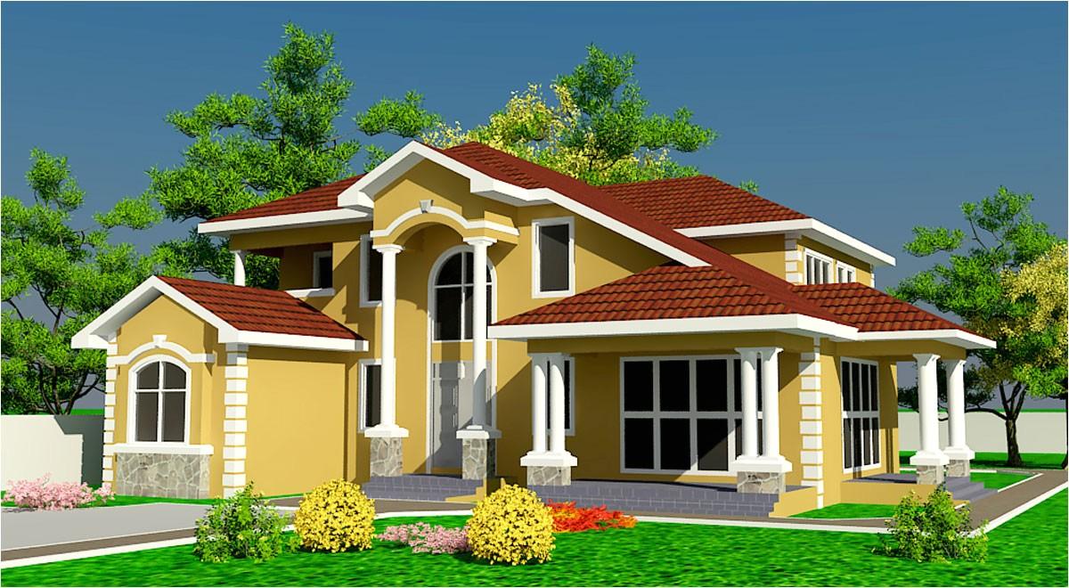 Ghana Homes Plans Ghana House Plans Naanorley House Plan