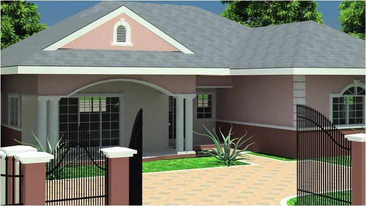 Ghana Homes Plans Ghana House Plans Simple House Plans Pinterest House
