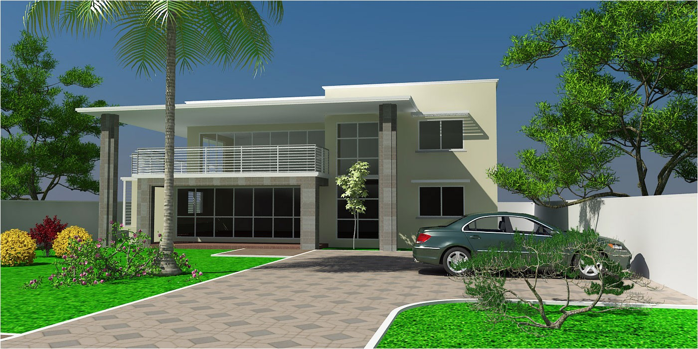 Ghana Homes Plans House Plans and Design Modern House Plans Ghana