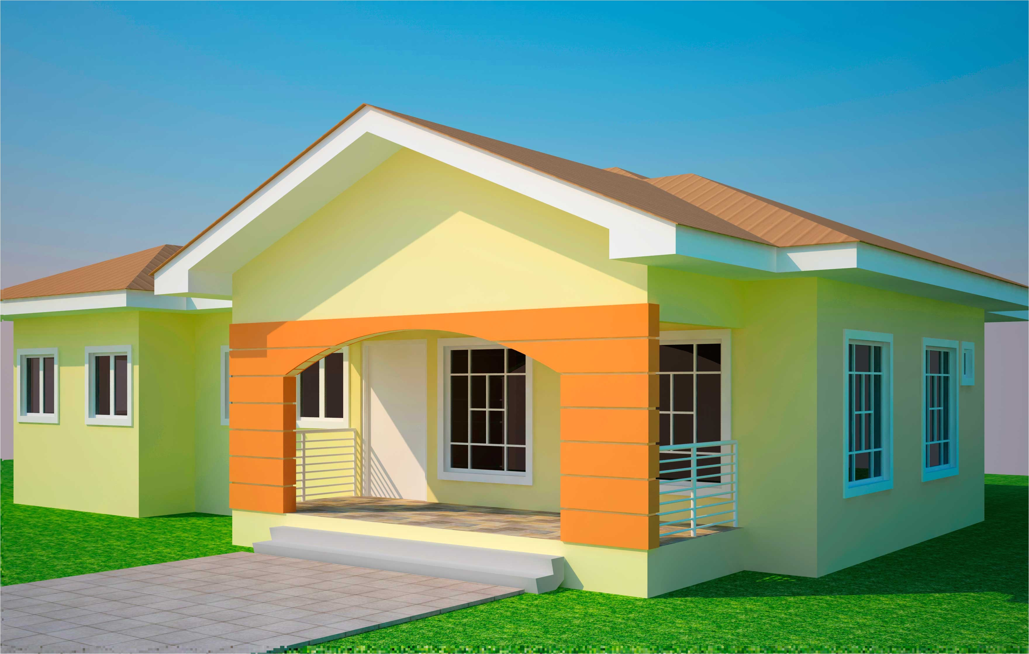 house plans ghana bedroom plan 3