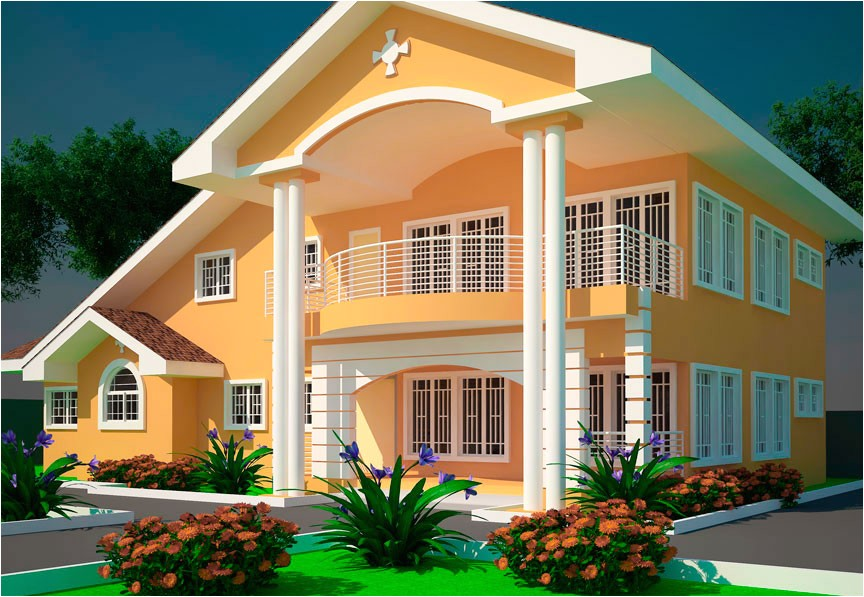 offei 5 bedroom house plan ghana