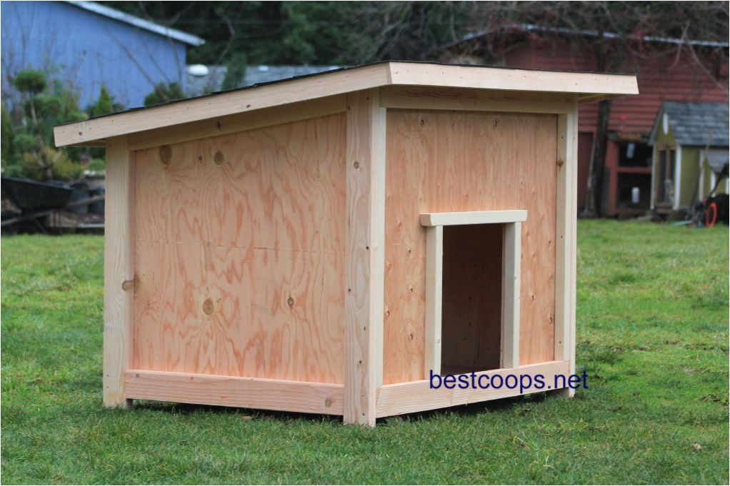 Giant Dog House Plans Large Dog House Plan 2 9 99 Picclick