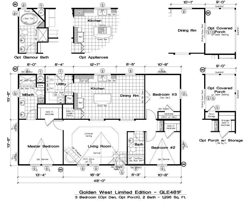 golden west limited edition floor plans
