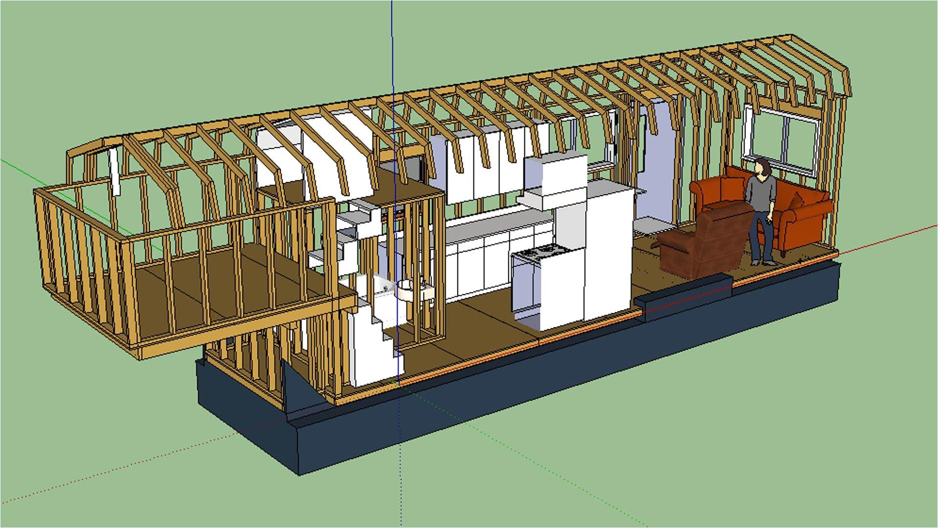 Gooseneck Tiny Home Plans Awesome Tiny House Design On A Gooseneck Trailer