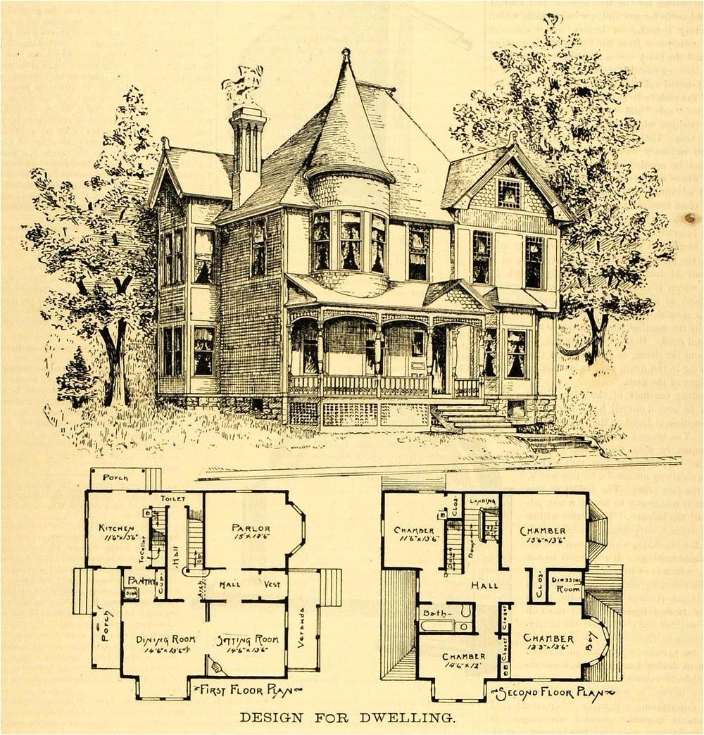 gothic victorian house plan