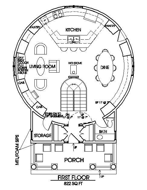 Grain Bin Home Floor Plans Grain Bin Home Floor Plan or Yurt Home Floor Plans