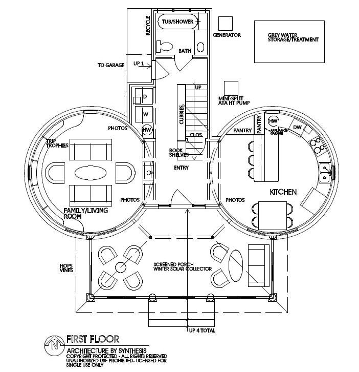 grain bin house floor plans
