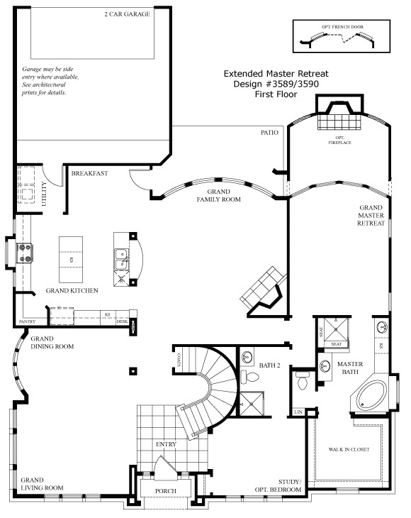 grand homes floor plans