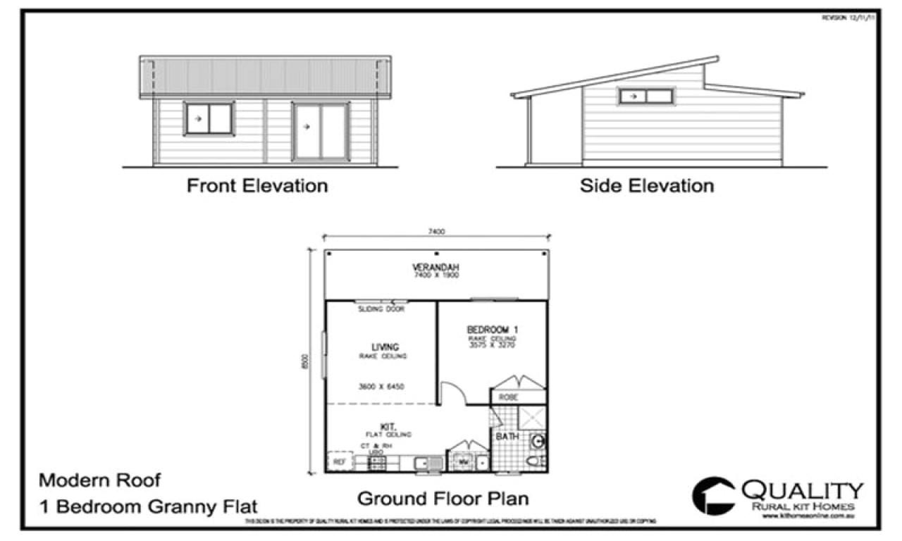 modern kit house plans
