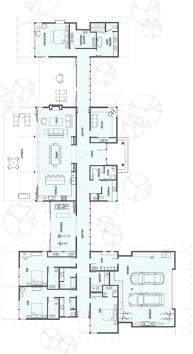 luxury ranch house plans for entertaining