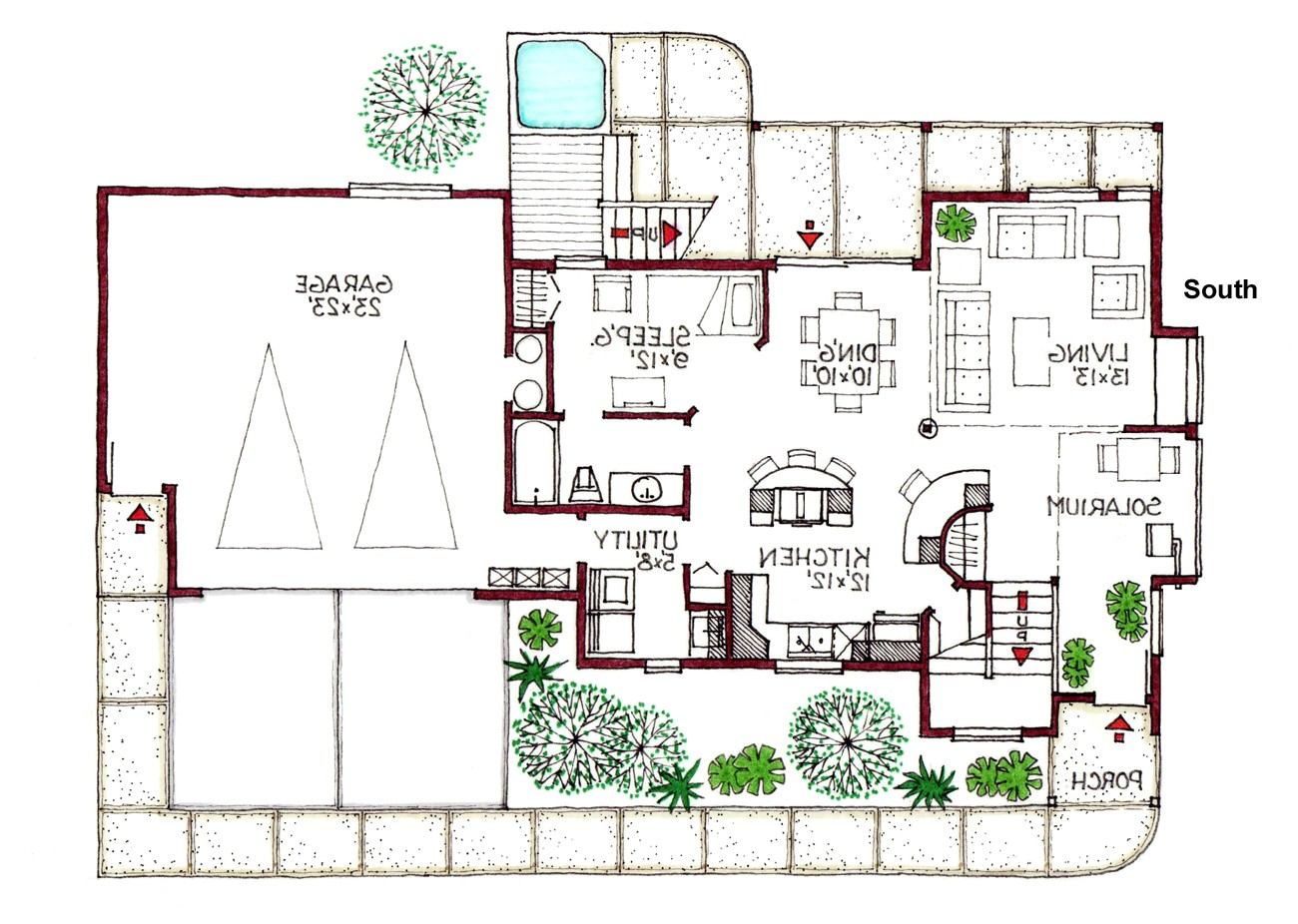green homes house plans