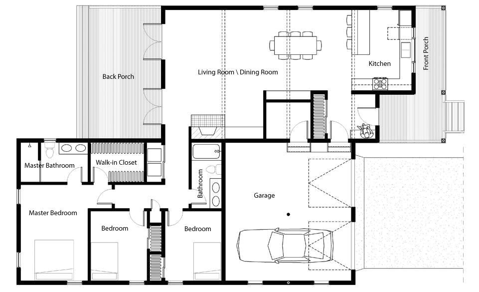 awesome sustainable home plans 5 green home floor plans