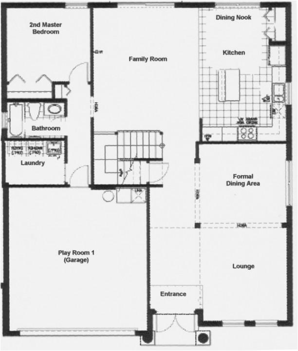 luxury ground floor first floor home plan